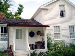 back door of Preacher Collins