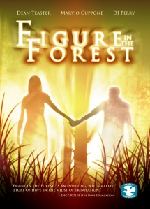 Figure in the Forest Poster